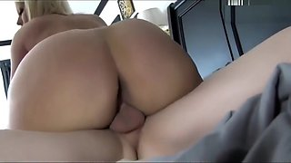 Stepson play with moms pussy in bed