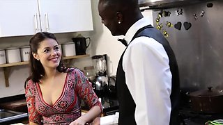 Antonio Black loves to play the chef and his final dessert