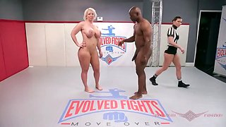 Very nice championship between man and woman