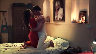 Sexy Tridha Choudhary has horny sex in their first night