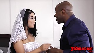 Cuckold Bride Creampied By A Big Black Chopper With Katrina Jade