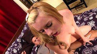 Shy Virgin Girl Seduce to Rough Defloration Sex by Big Dick