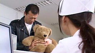 Crazy Japanese slut in Best Nurse, Amateur JAV clip