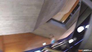 Valentina Nappi POVed in Toilet & Hotel