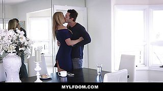 Fit Blonde Milf Fucked Hard By A Cuckold