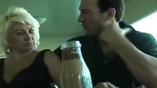Busty cougar fucks her young neighbor & gets a creampie