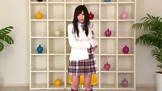 Crazy Japanese girl Rico Yamaguchi in Hottest Striptease, Softcore JAV movie