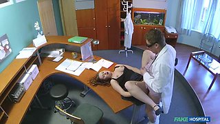Doctor Gives His New Receptionist A Full Body Fucking