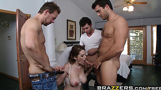 Brazzers   Real Wife Stories   Allison Moore Erik Everhard James Deen Ramon   Last Call for Cock and Balls