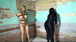 blonde carissa forced and chloro