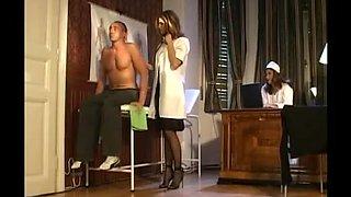 Fabulous Threesomes clip with MILFs,Nurse scenes