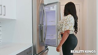 Aryana Adin in The Kitchen Humper - LilHumpers