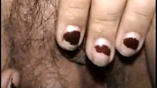 Asian Amateur Wife Masturbating