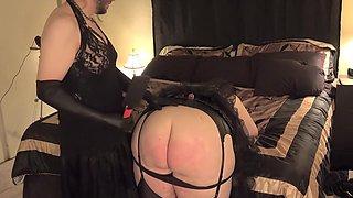 Corporalist Crossdresser Spanks large pretty mother Headmistress