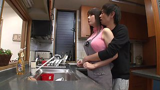 Haruka Aizawa attacked by a lover for a great lovemaking sensation