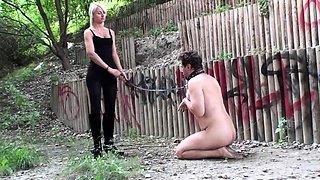 Princess Paris humiliate slaves