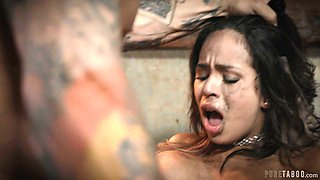 Busty babe fucks for car repairs with sex and that sweet girl can fuck