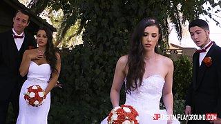 Casey Calvert is a horny bride in need of a pulsating cock