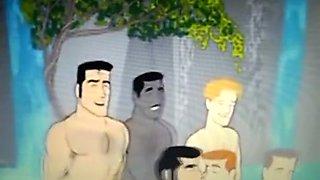 Crazy amateur gay scene