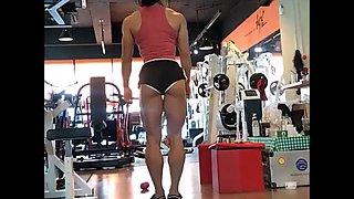 Korean fitness model