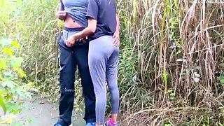 Fuck Witn Indian Jogging Girl In Park - Very Hot Girl