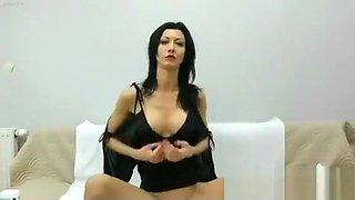kinky jo insertion and masturbation