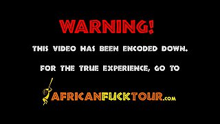 Good Loocking Busty African Teen Simply Does It All