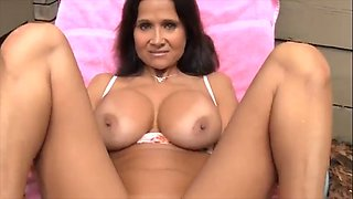 Hot mom finds son with erection and lets him fuck her
